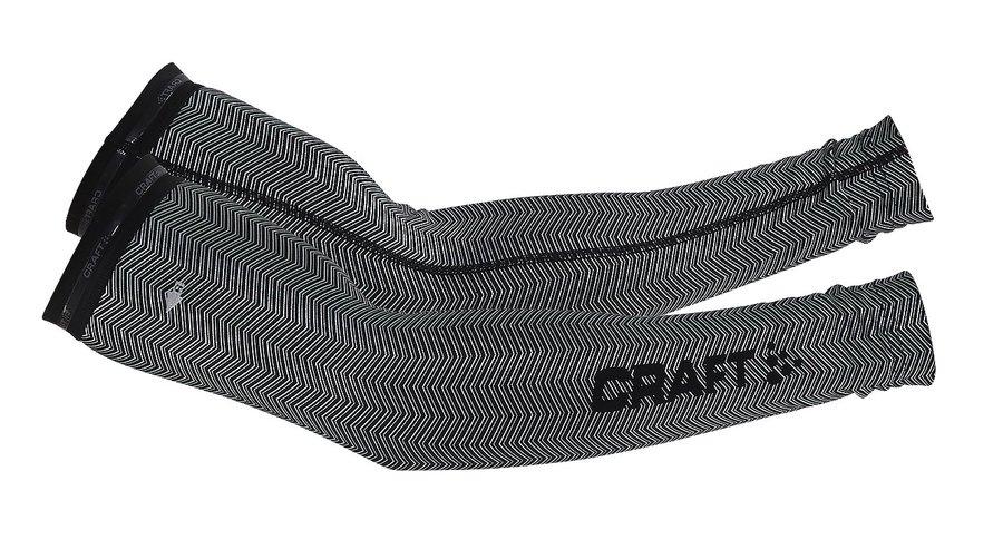 Černé cyklistické návleky na ruce Craft - velikost L