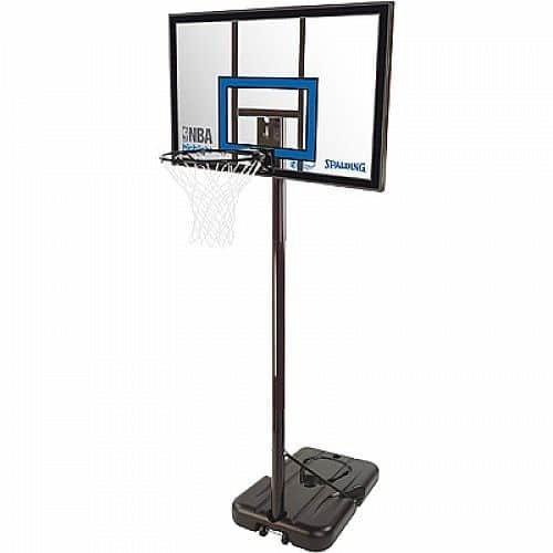 Basketbalový koš - Basketbalový koš NBA HIGHLIGHT ACRYLIC PORTABLE Spalding
