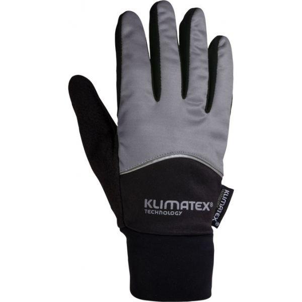 Černé dámské zimní rukavice Klimatex