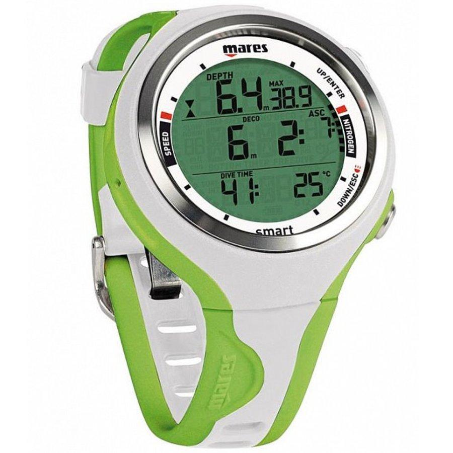 Počítač - Potápěčský počítač MARES Smart zeleno-bílý