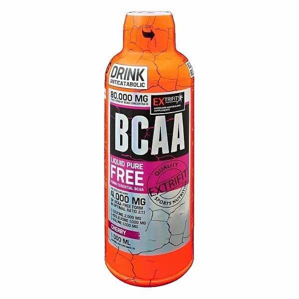 BCAA - Extrifit BCAA Free Form 80000 1000 ml Meruňka 1000 ml