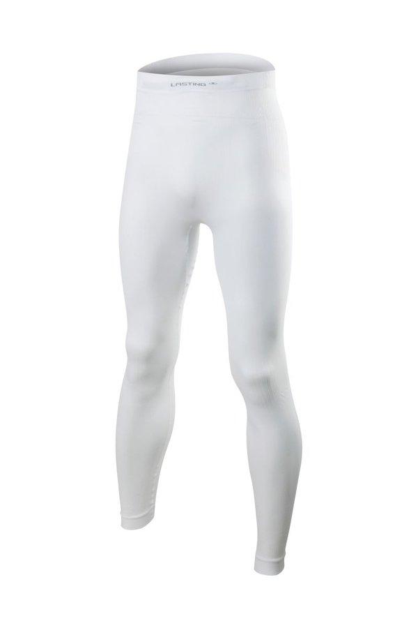Bílé pánské funkční kalhoty Lasting - velikost XXL-3XL