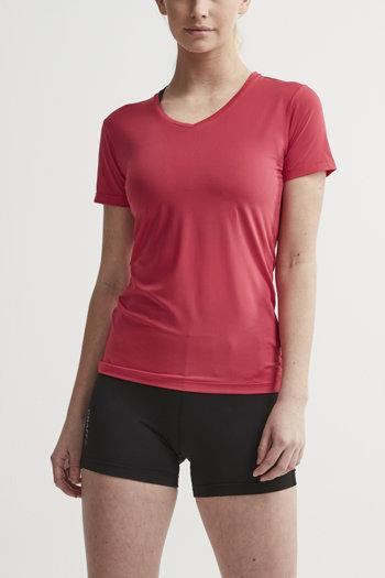Růžové dámské tričko s krátkým rukávem Craft