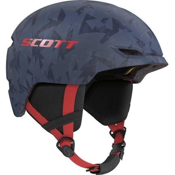 Modrá dětská lyžařská helma Scott