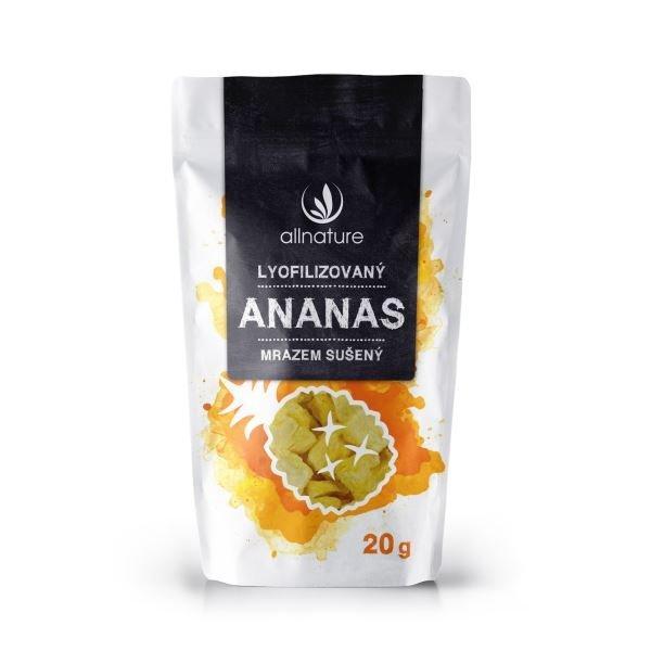Sušený ananas Allnature - 20 g