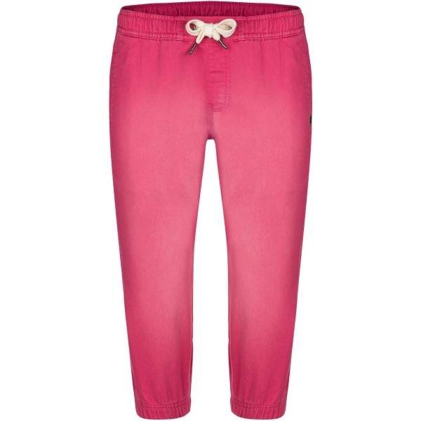 Růžové dámské tepláky Loap