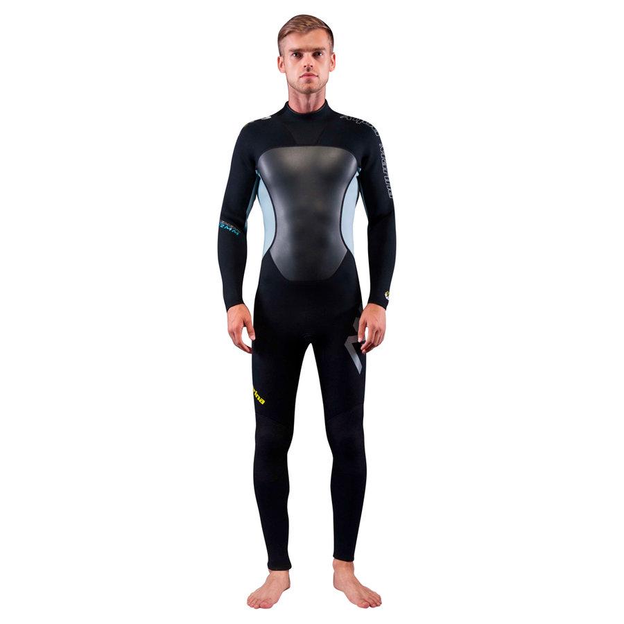 Černý dlouhý pánský neoprenový oblek Element, Aqua Marina - velikost L