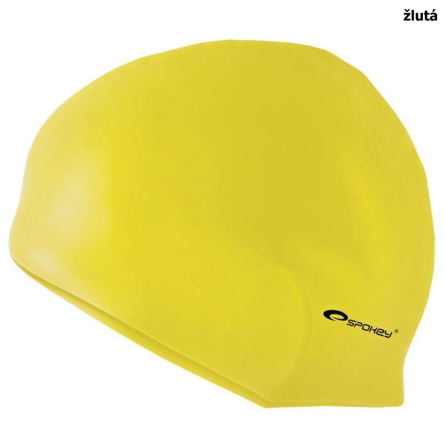 Žlutá pánská nebo dámská plavecká čepice SUMMER, Spokey