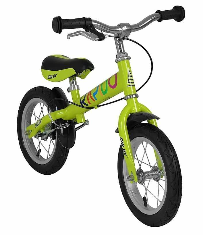 Zelené dětské odrážedlo Sulov