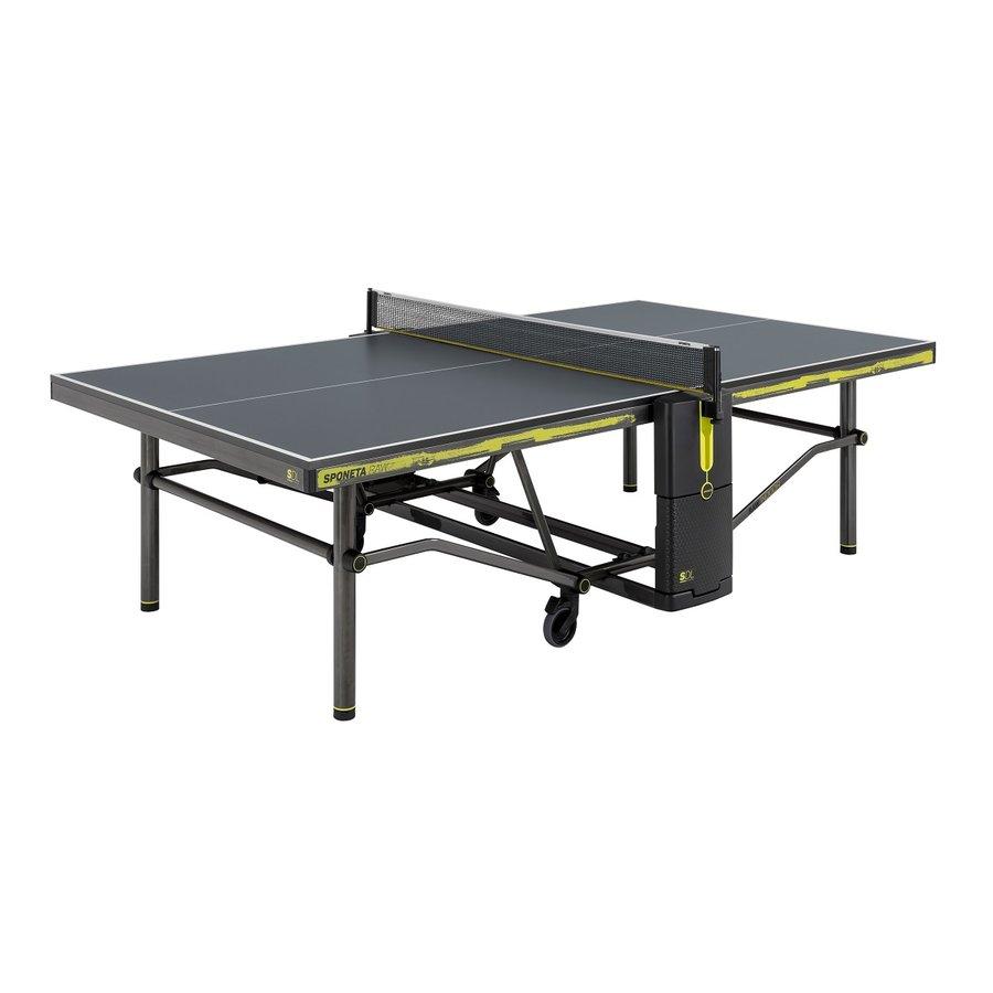 Černý venkovní stůl na stolní tenis Design Line, Sponeta