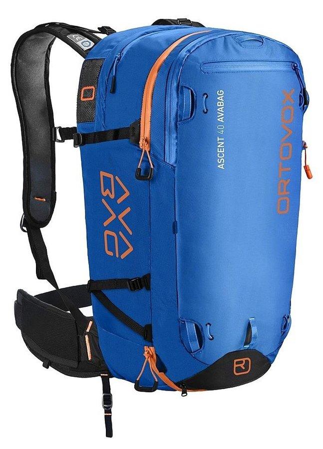 Modrý lavinový skialpový batoh Ortovox - objem 40 l
