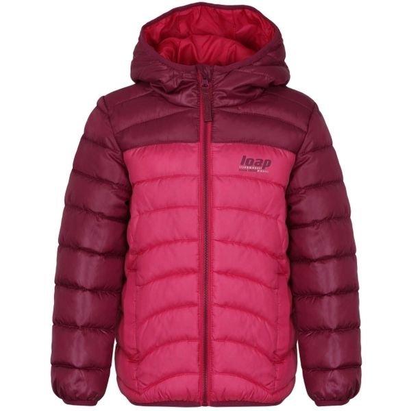 Růžová dívčí bunda Loap