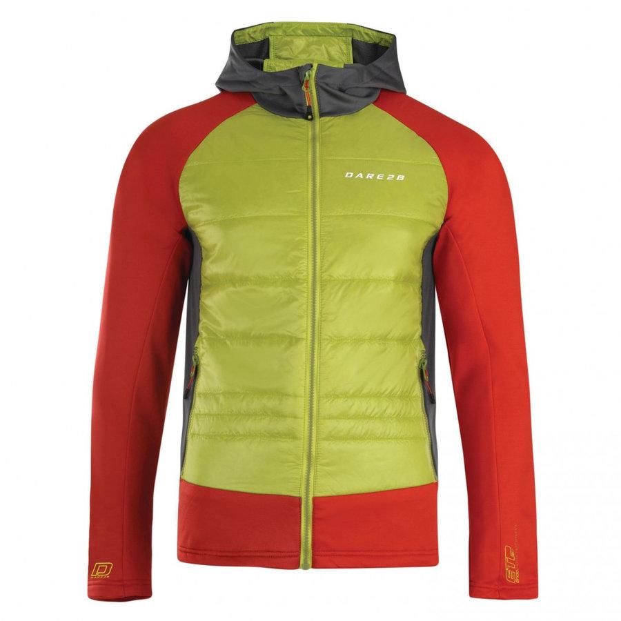 Červeno-zelená pánská bunda Dare 2b - velikost XXL