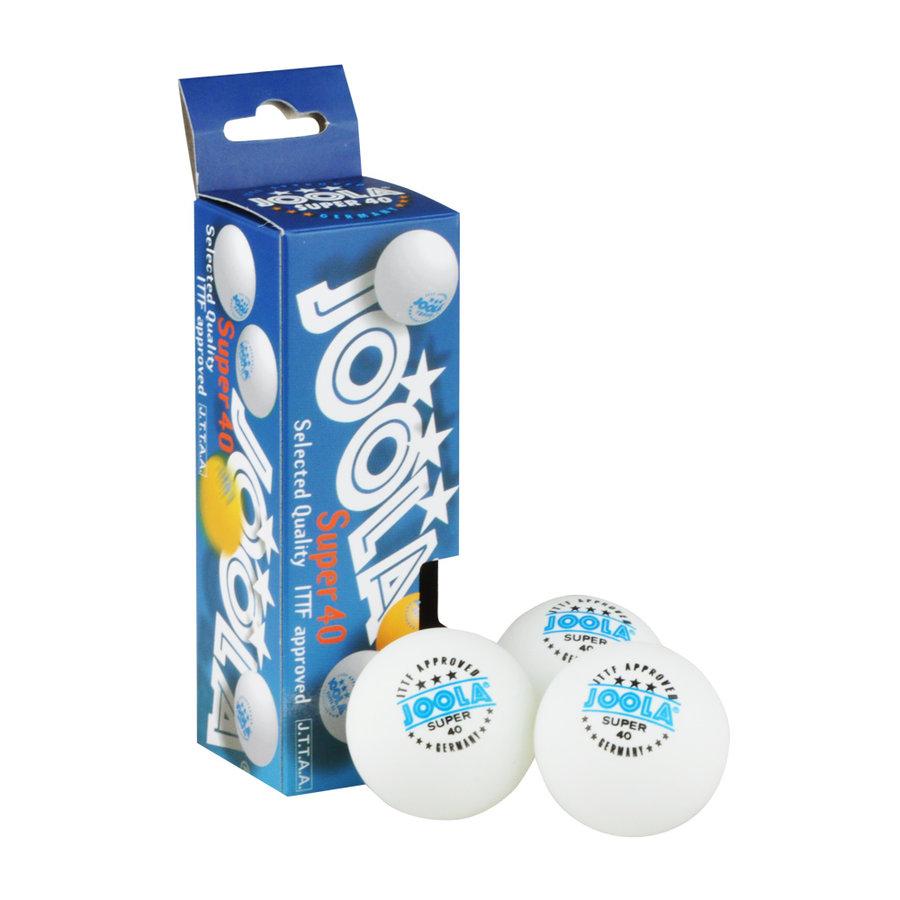 Bílý míček na stolní tenis Joola - 3 ks