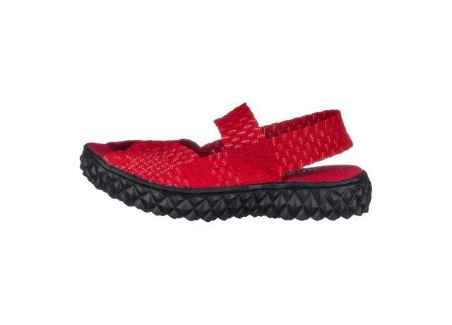 Červené sandály Rock Spring