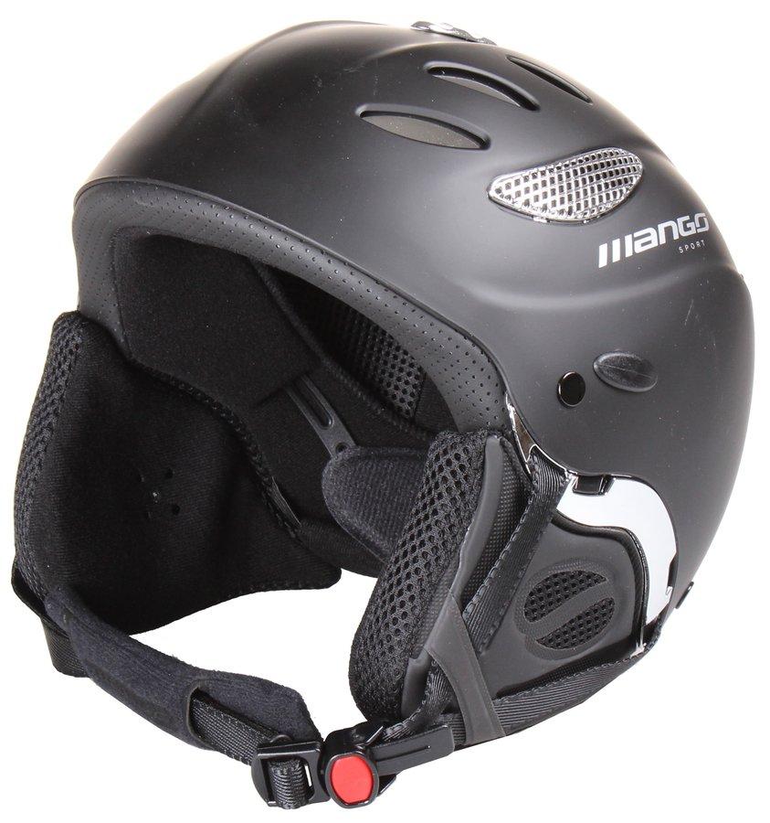 Černá lyžařská helma Cusna Free, Mango - velikost 55-57 cm