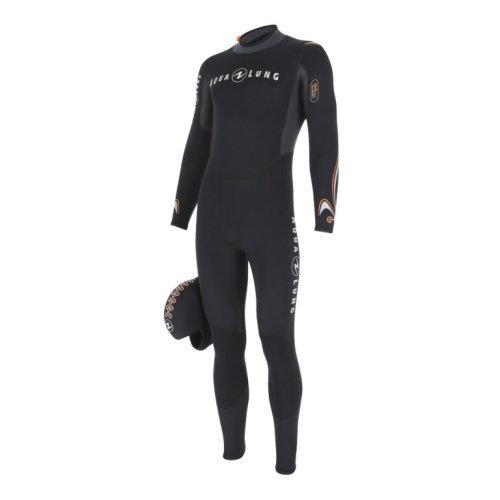 Černý dlouhý pánský neoprenový oblek DIVE JUMPSUIT, Aqualung