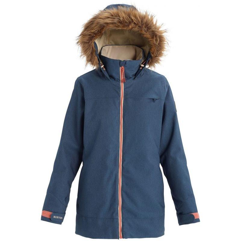 Modrá dámská snowboardová bunda Burton