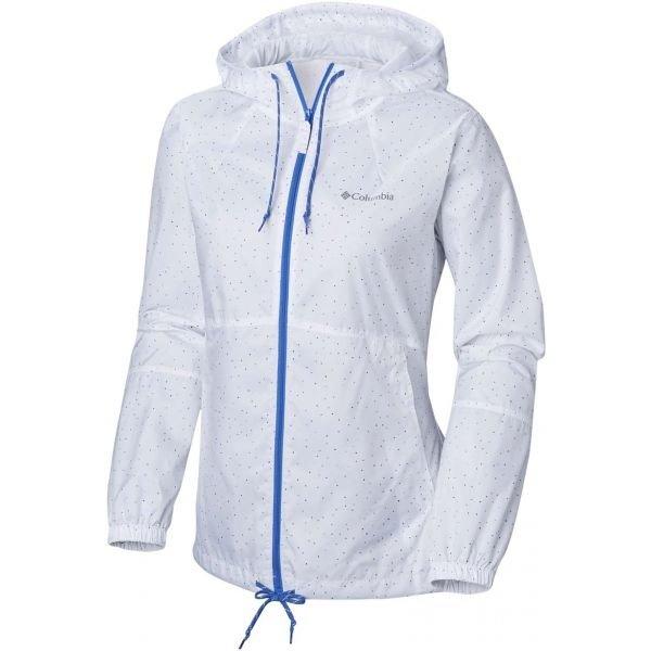 Bílá dámská bunda Columbia
