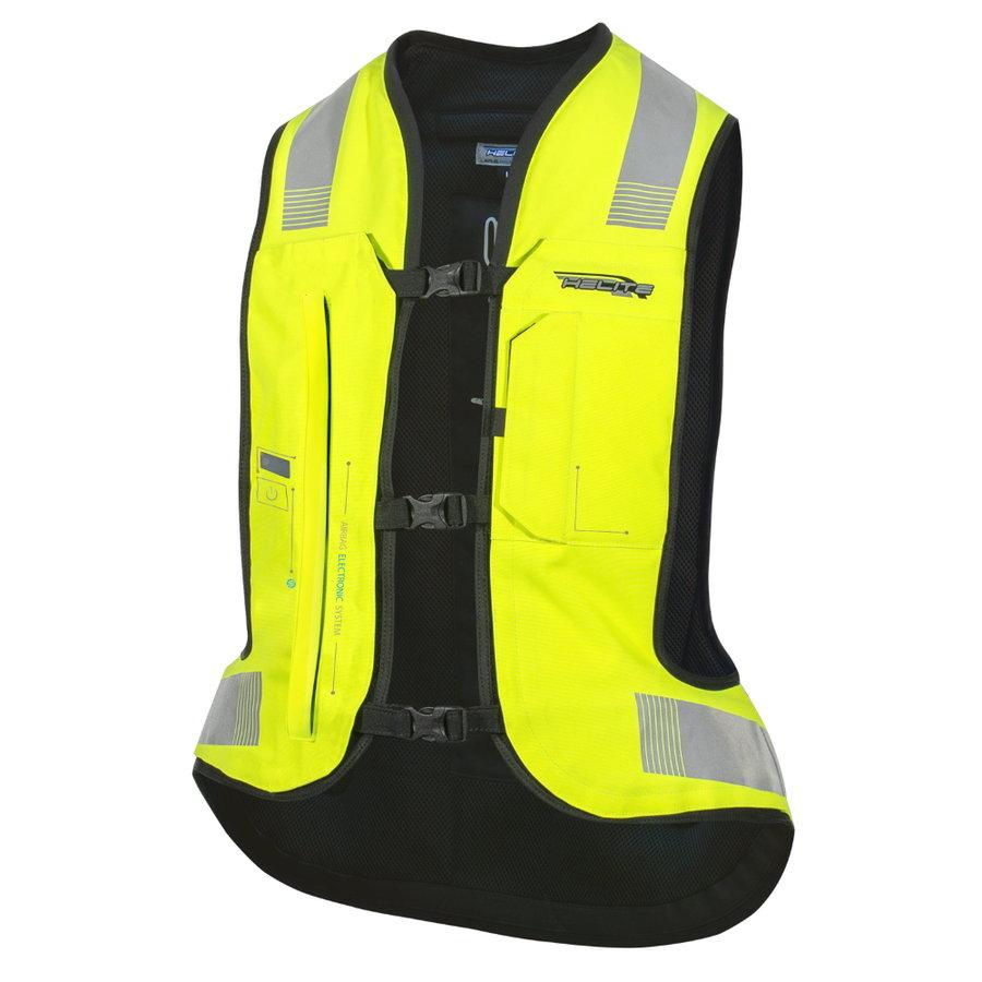 Žlutá airbagová vesta Helite