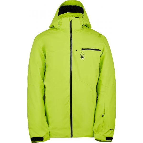 Zelená pánská lyžařská bunda Spyder