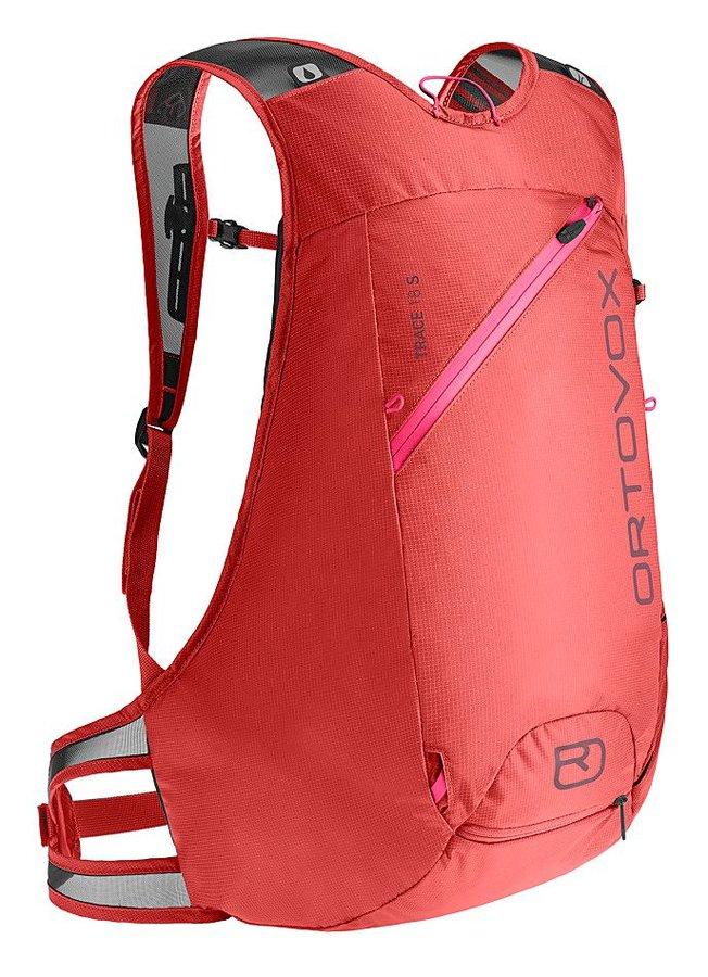 Červený skialpový batoh Ortovox - objem 18 l