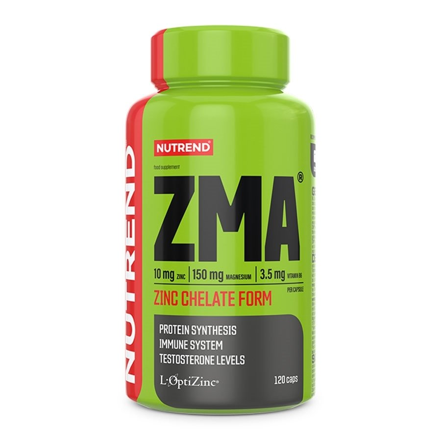 ZMA - Anabolizér Nutrend ZMA 120 kapslí