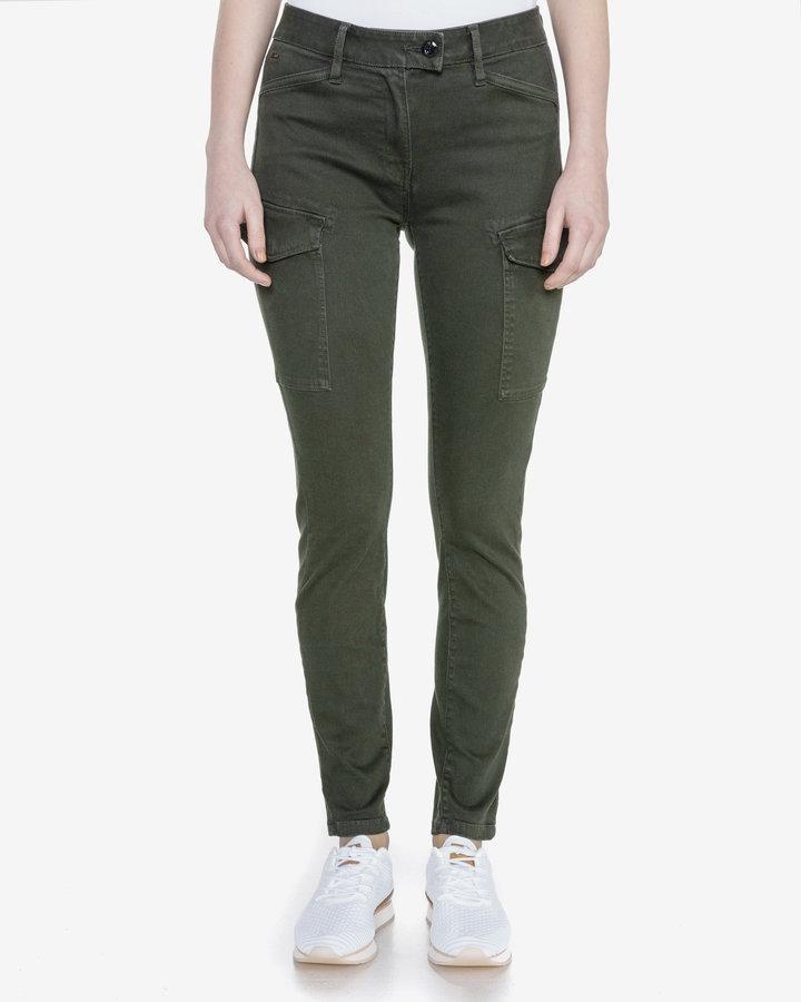 Zelené dámské džíny G-Star RAW