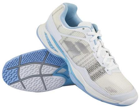 Bílo-modrá dámská tenisová obuv Jet Mach I, Babolat - velikost 38,5 EU