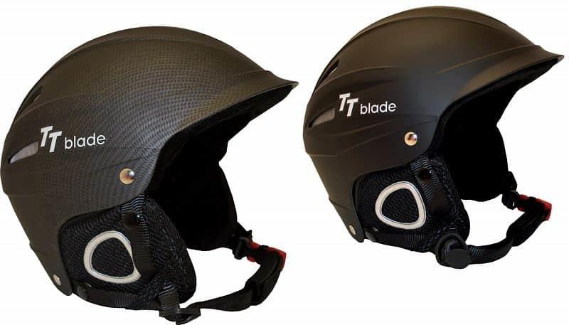 Černá lyžařská helma TT-Blade
