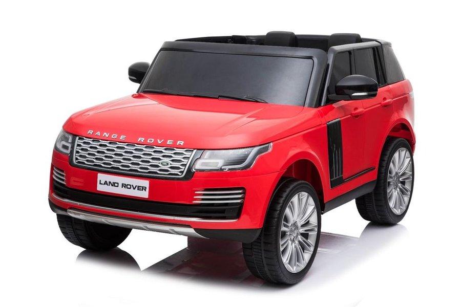 Červené dětské elektrické autíčko Range Rover, Beneo