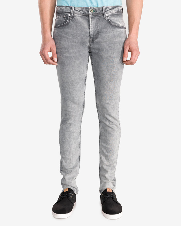 Šedé pánské džíny Pepe Jeans