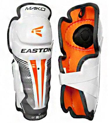 Bílý hokejový chránič holení - youth Easton