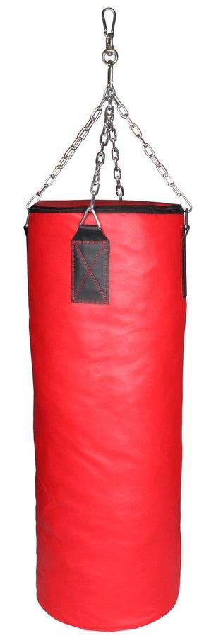 Červený boxovací pytel Merco - 25 kg