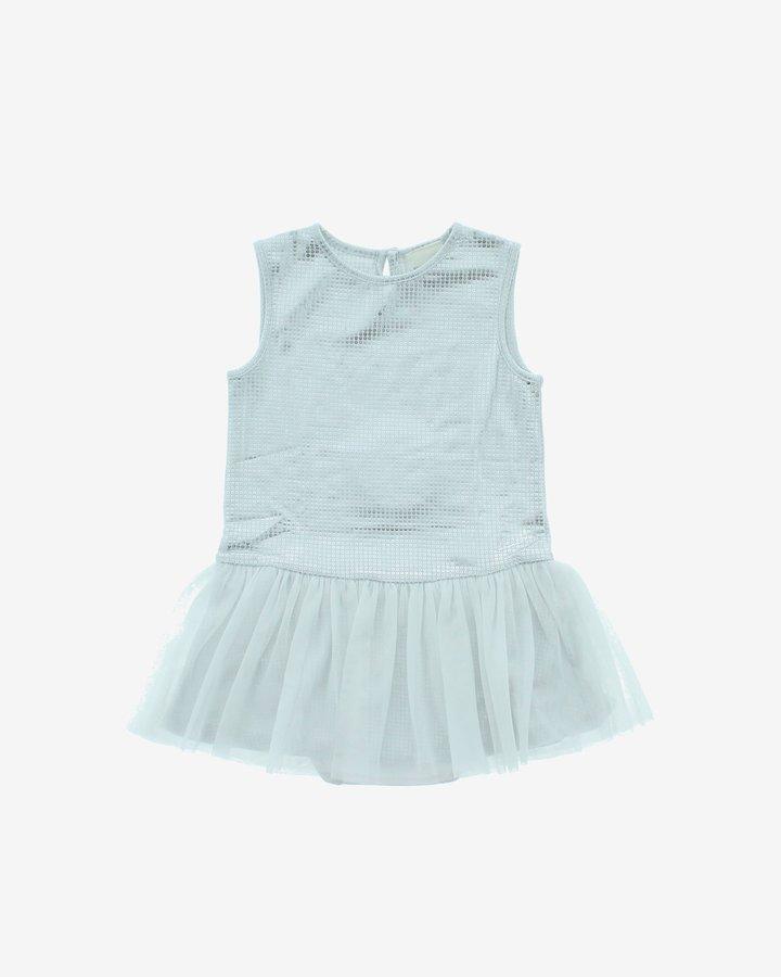 Modré dívčí šaty Diesel - velikost 68