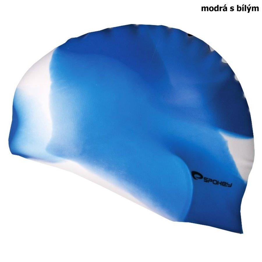 Modrá dámská nebo pánská plavecká čepice ABSTRACT, Spokey