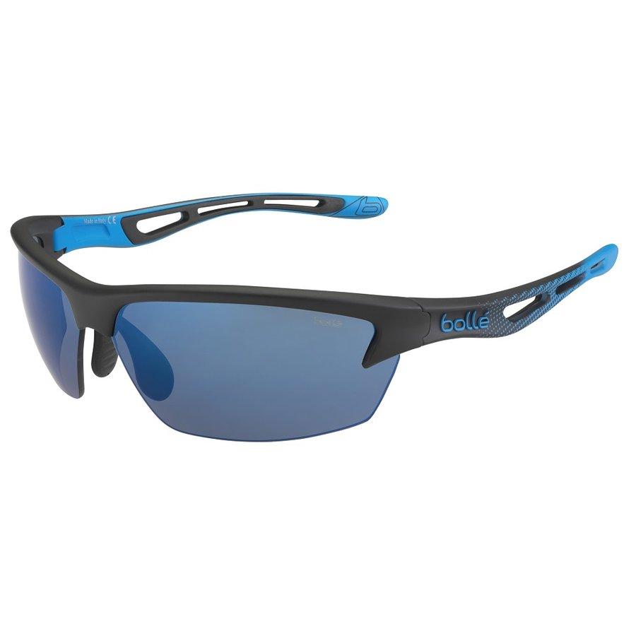 Černo-modré cyklistické brýle Bollé