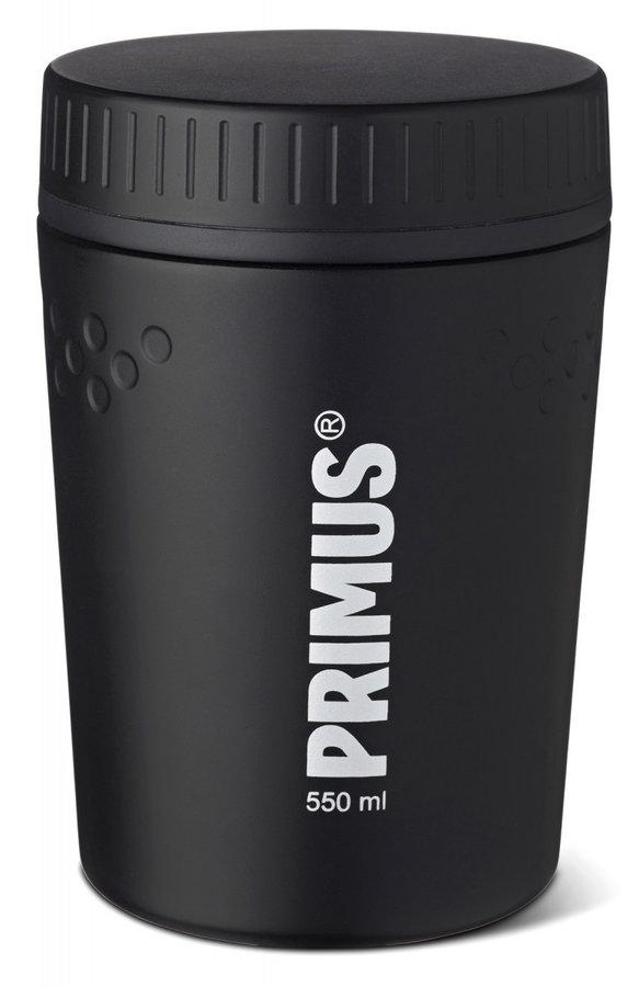Černá termoska na jídlo Primus - objem 0,55 l