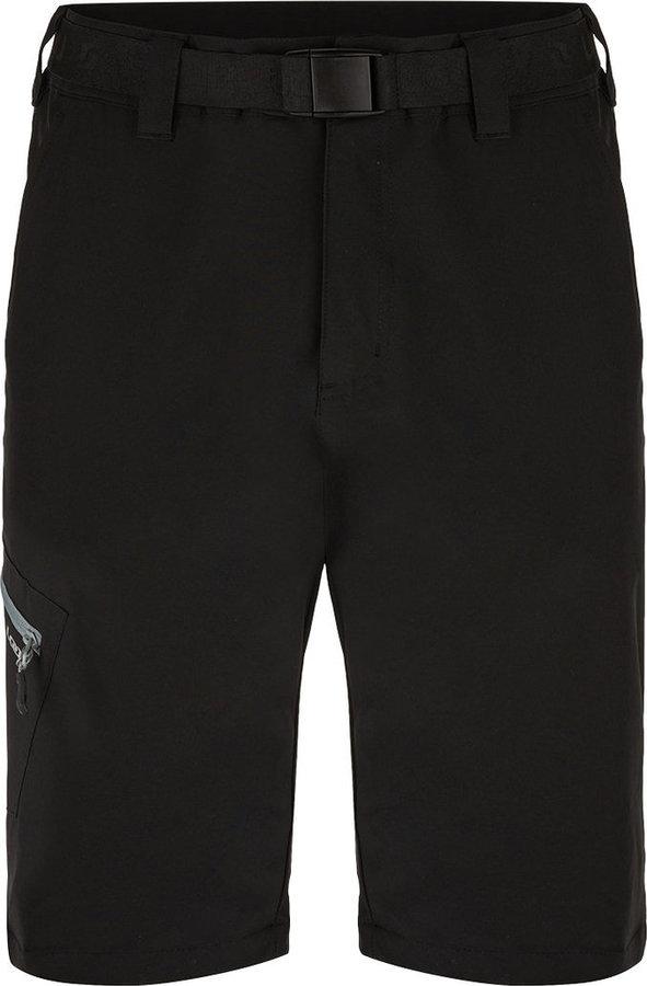 Černé sportovní pánské kraťasy Loap - velikost L
