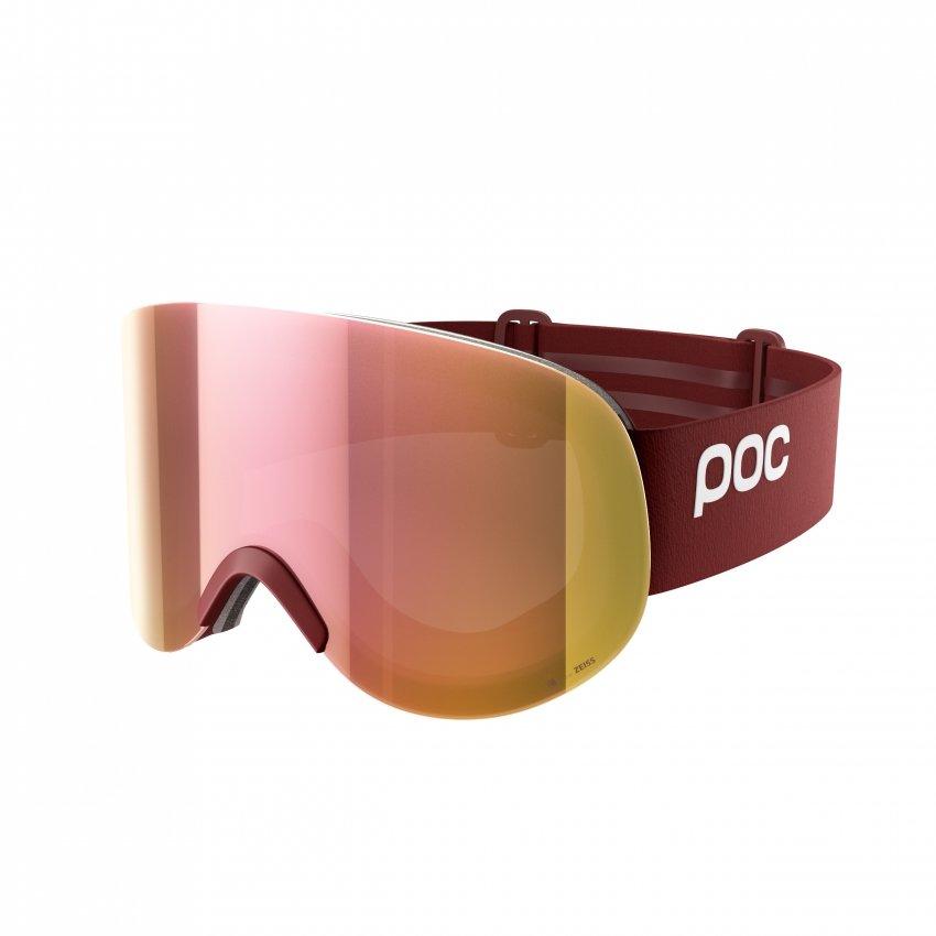 Červené lyžařské brýle POC