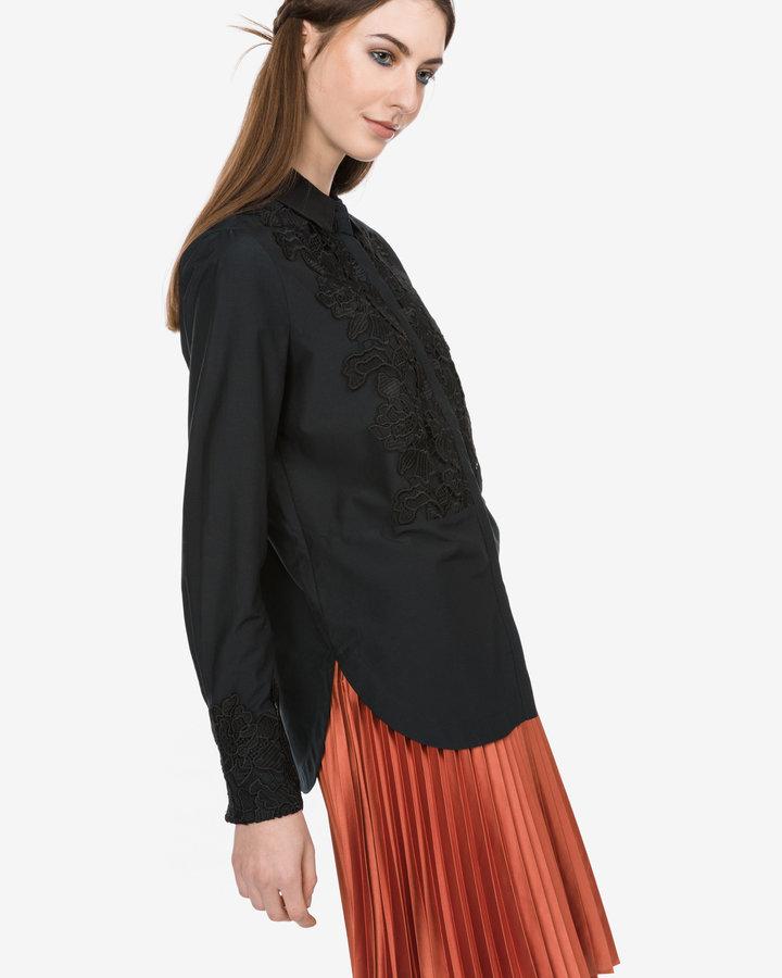 Černá dámská košile s dlouhým rukávem Scotch & Soda - velikost XS