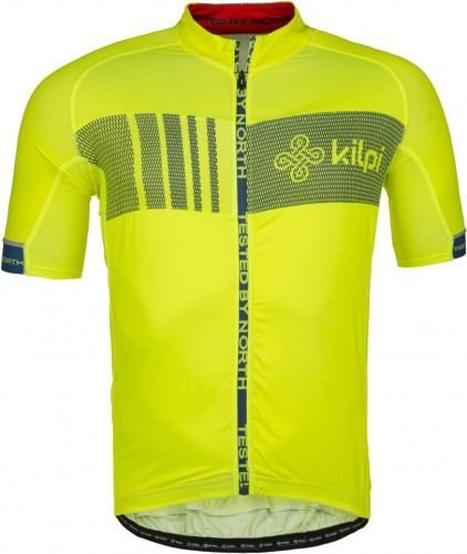 Žlutý pánský cyklistický dres Kilpi - velikost M