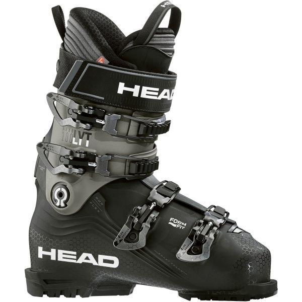Černo-šedé lyžařské boty Head