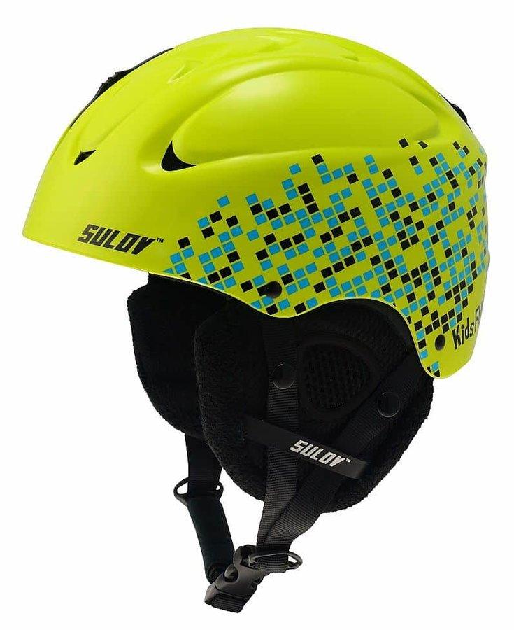 Zelená dětská lyžařská helma Sulov - velikost 4XS-2XS