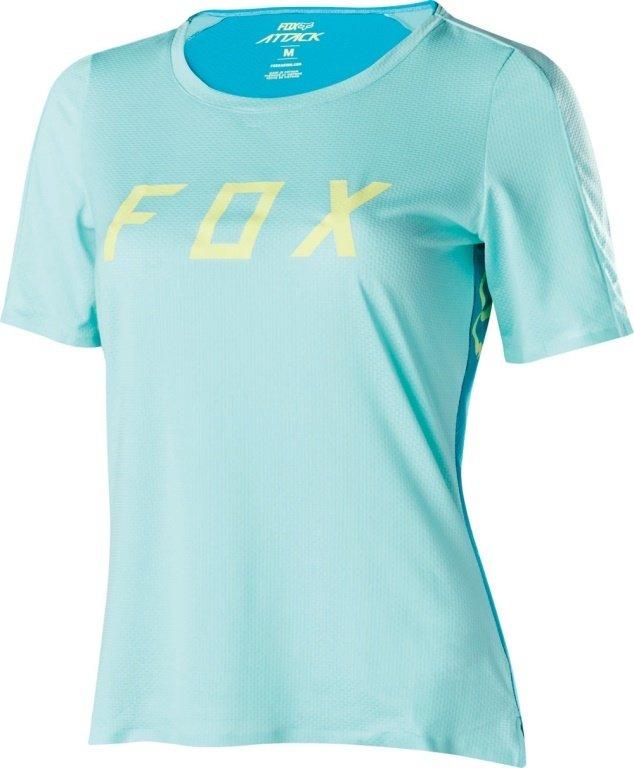 Cyklistický dres - FOX Attack dres dámský světle modrá, L