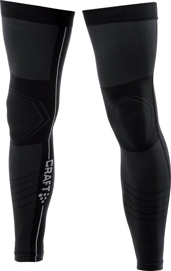 Černé cyklistické návleky na nohy Craft - velikost XL-XXL