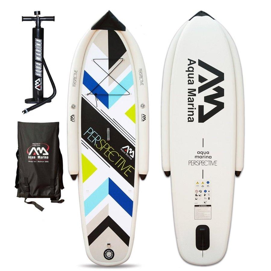 Paddleboard Perspective, Aqua Marina