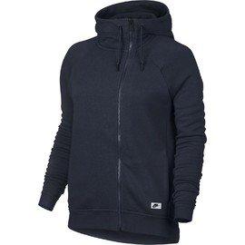 Modrá dámská mikina s kapucí Nike
