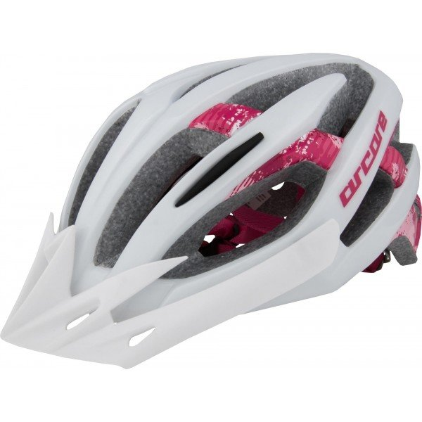Bílá cyklistická helma Force