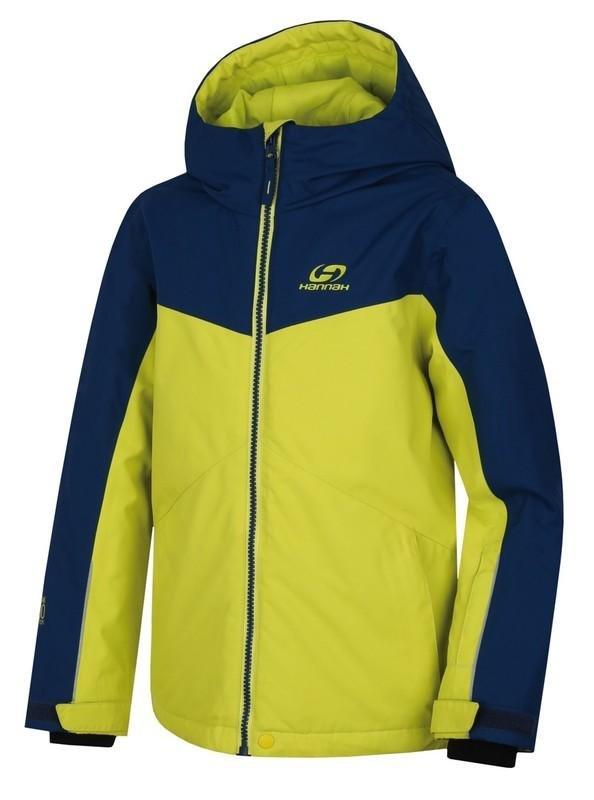 Modro-zelená dětská lyžařská bunda Hannah - velikost 140